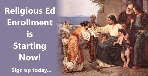Time for Religious Ed Enrollment