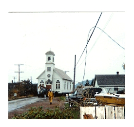 Moving St. Aloysius Church