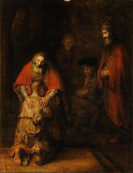 Rembrandt - The Return of the Prodigal Son